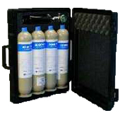 CO2 and CO gas calibration kit