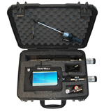 Hardshell security case for single probe monitoring
