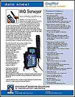 IAQ Surveyor Data Sheet